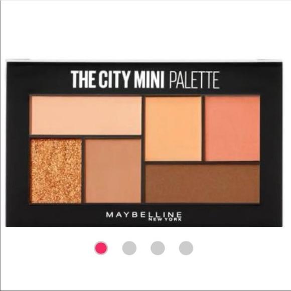 Maybelline The City Mini Palette #550